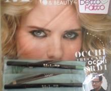 Make up & Beauty by DETTOFATTO 10° Uscita – Recensione kohl brown e matita occhi verde glitter