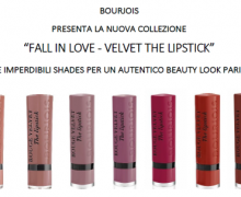 Collezione Fall in Love Velvet The Lipstick di Bourjois