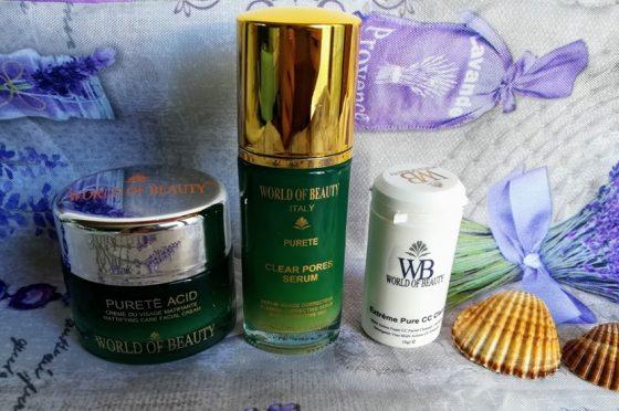 La mia Skincare Routine con World of Beauty
