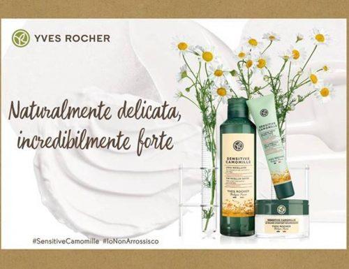 Yves Rocher presenta la nuova linea Sensitive Camomille